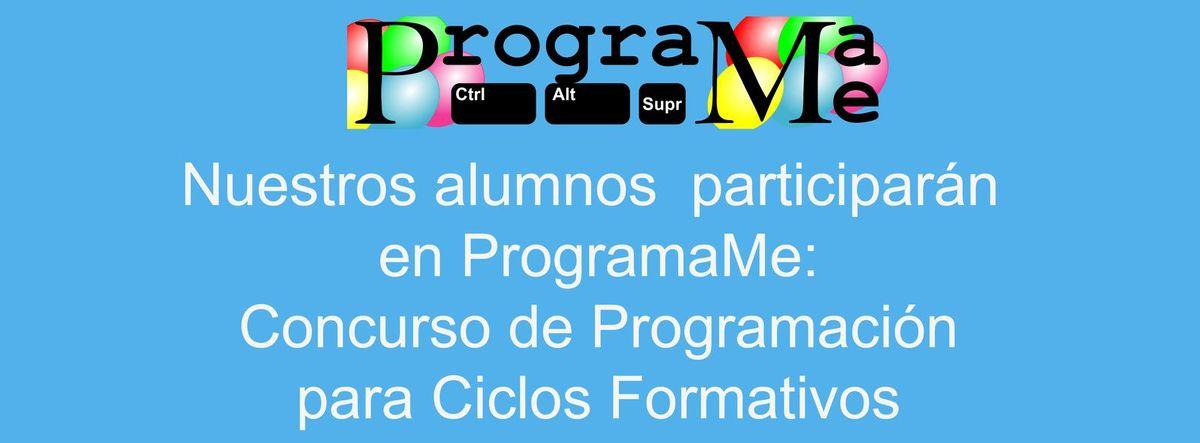 Los alumnos del Valle del Miro participarán en el concurso de programación ProgramaMe