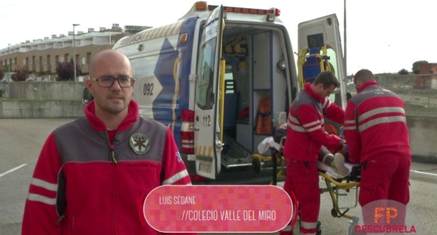 Técnico en Emergencias Sanitarias en el colegio Valle del Miro