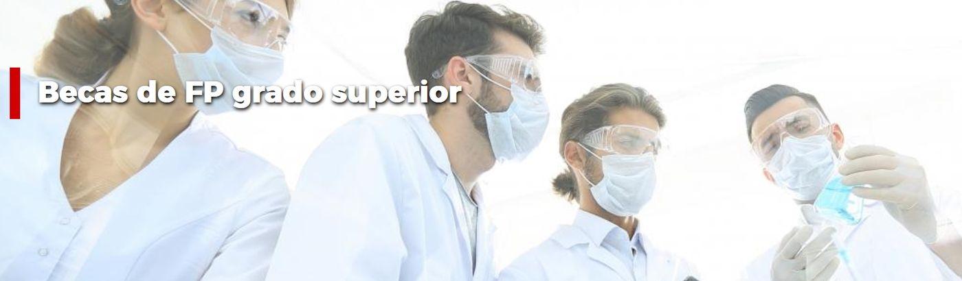 Becas para el estudio de Formación Profesional de Grado Superior en centros privados autorizados por la Comunidad de Madrid para el curso 2021-2022